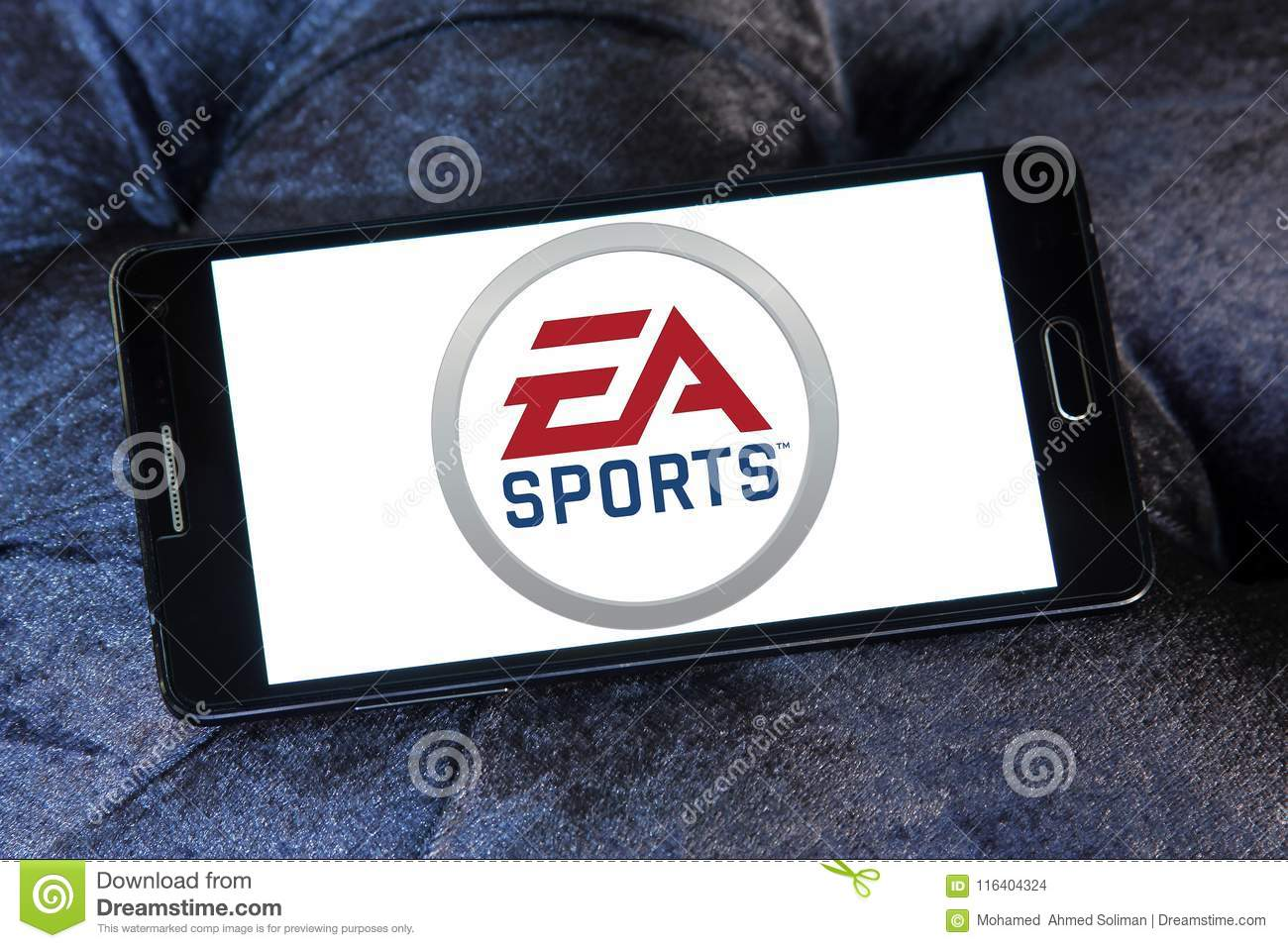 Ea Sports Logo Editorial Stock Image Image Of Industry 116404324