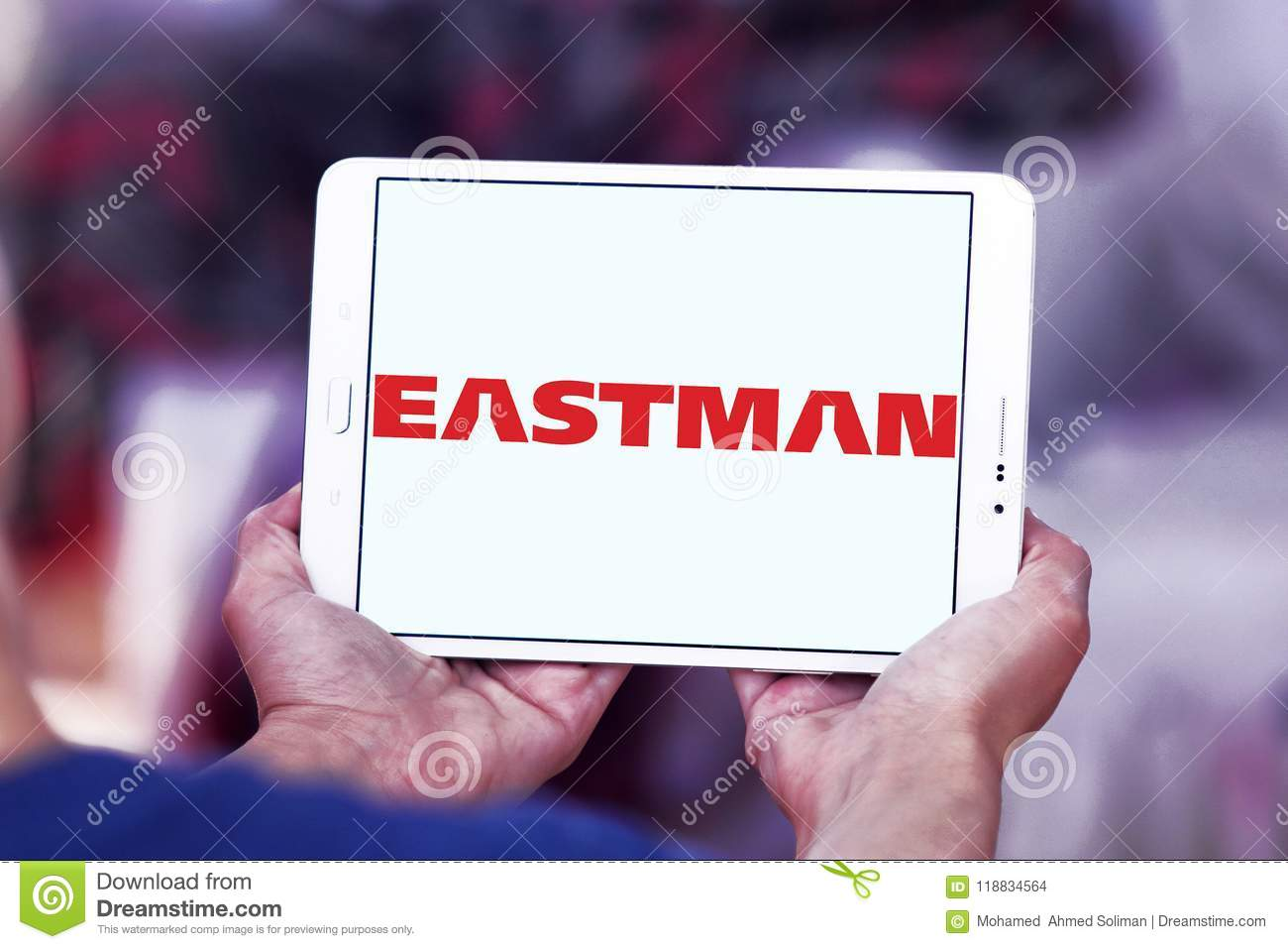 Eastman Chemical Company Logo Editorial Stock Image - Image of