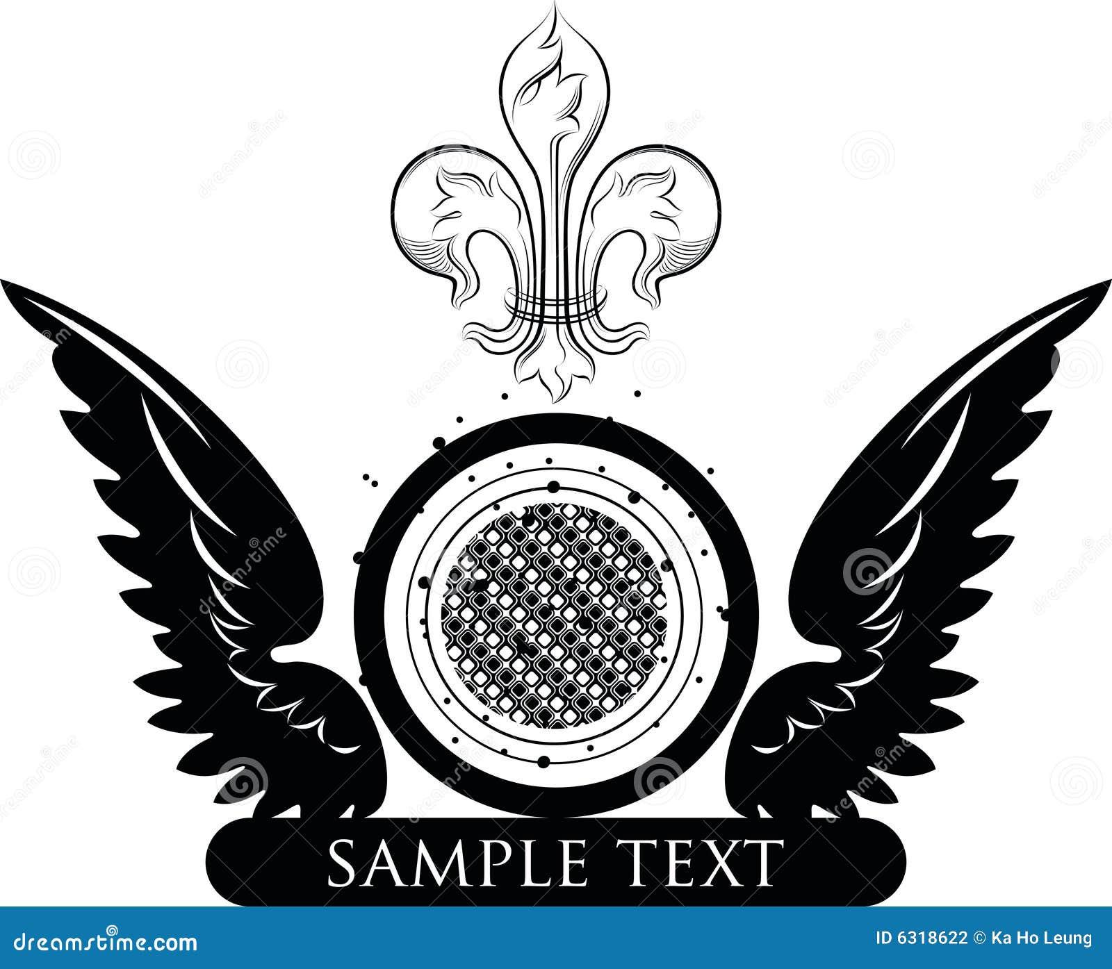 logo with emblem design stock illustration illustration of emblem