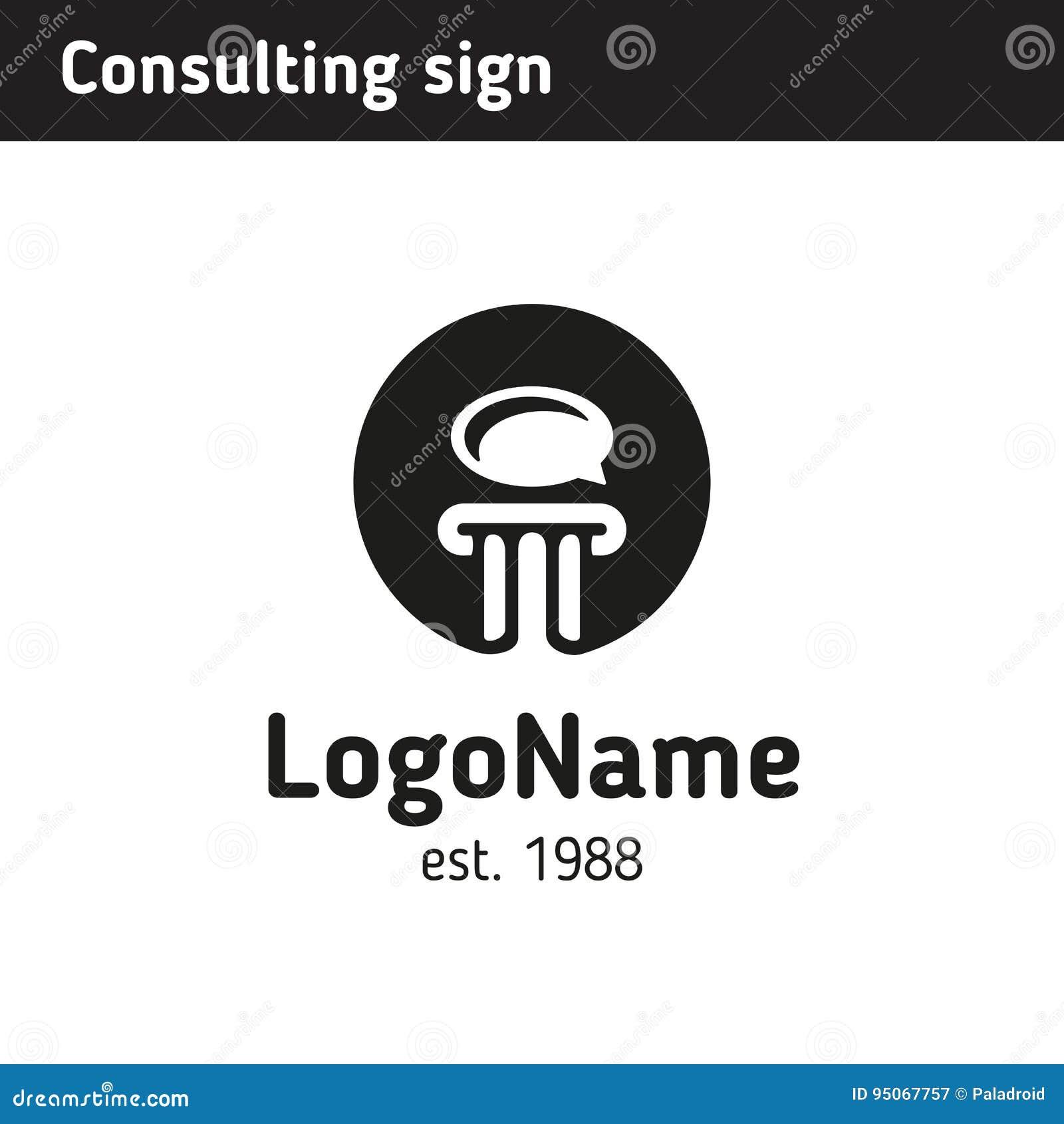 Logo för en konsultföretag