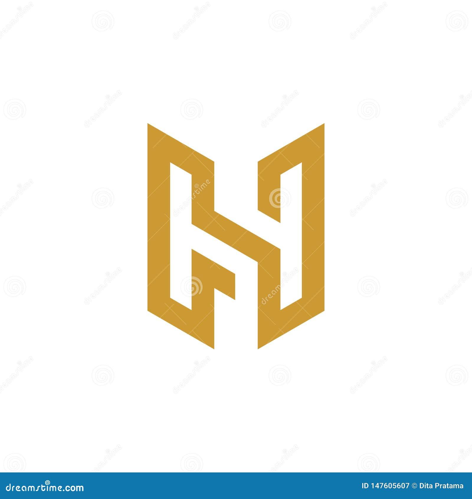 Logo för H-bokstavsinitial