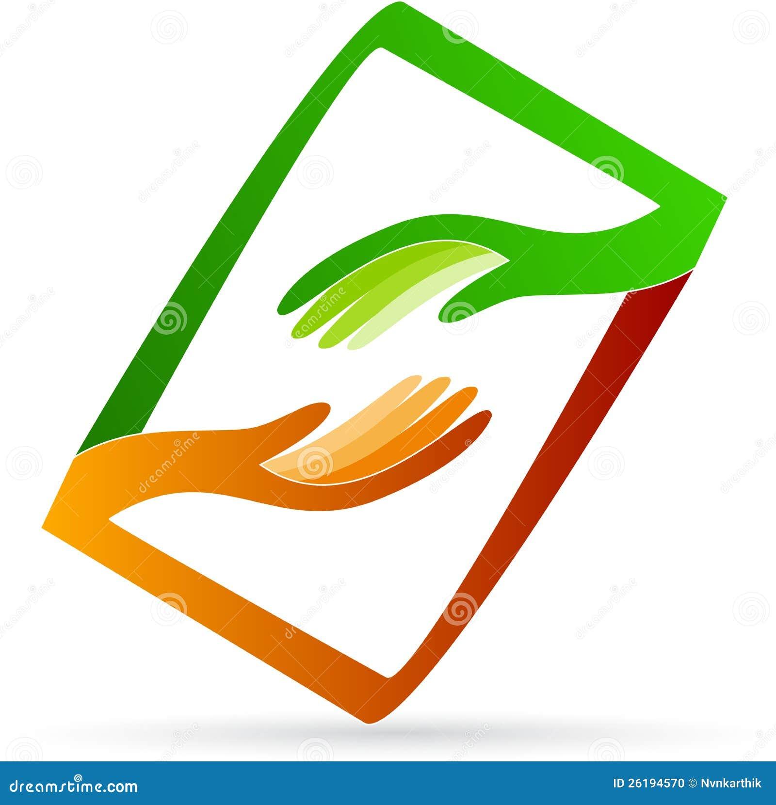 Logo för hjälpande händer