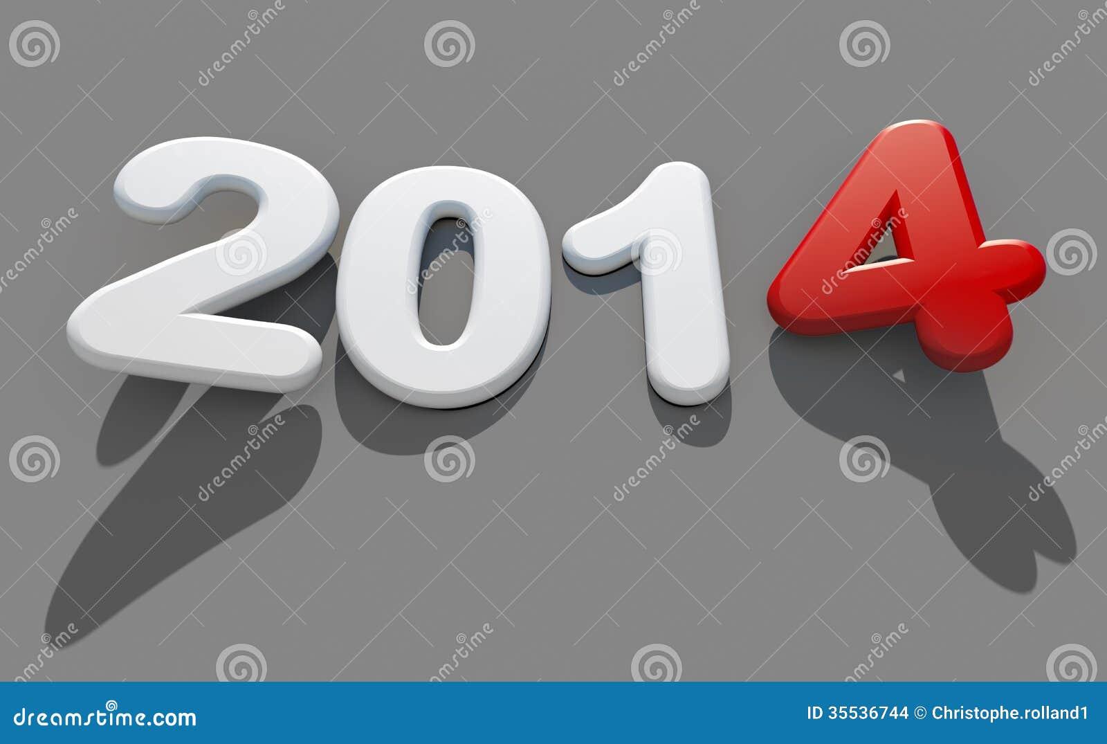 Logo 2014 för nytt år