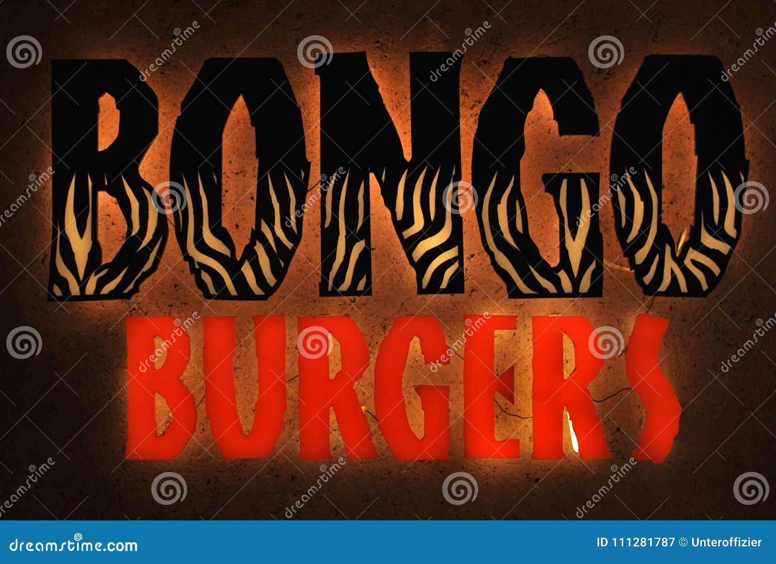 Logo för restaurang för Bongohamburgaresnabbmat