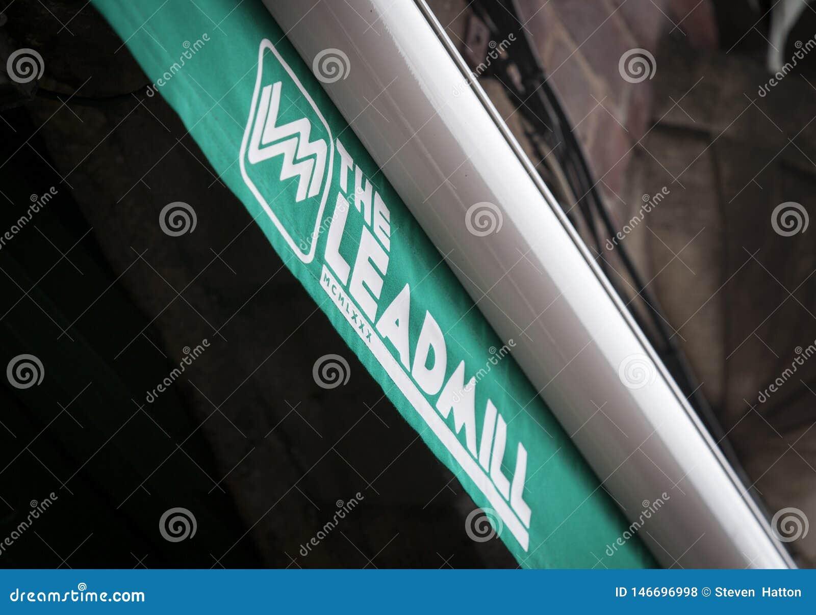 Logo für den berühmten Musikverein das Leadmill Sheffield, South Yorkshire, Gro?britannien - 13. September 2013