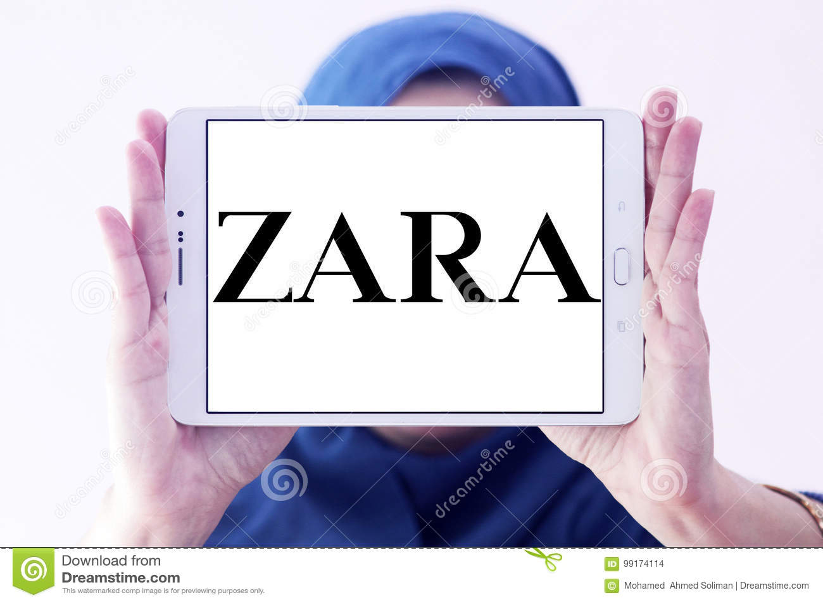 Zara Logo Editorial Stock Image Image Of Company Brand 99174114