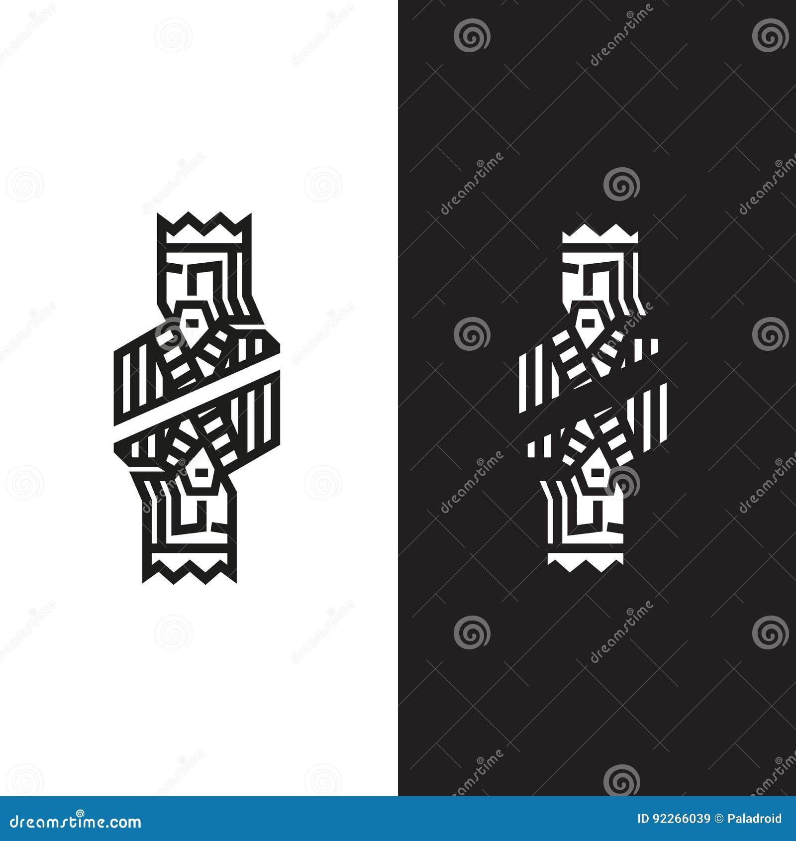 Logo in Form eines Königs