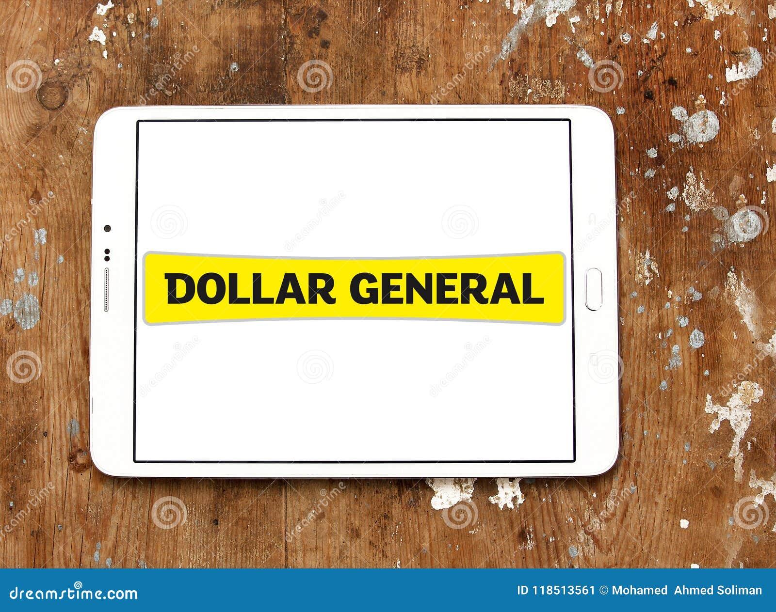 Logo général de détaillant du dollar