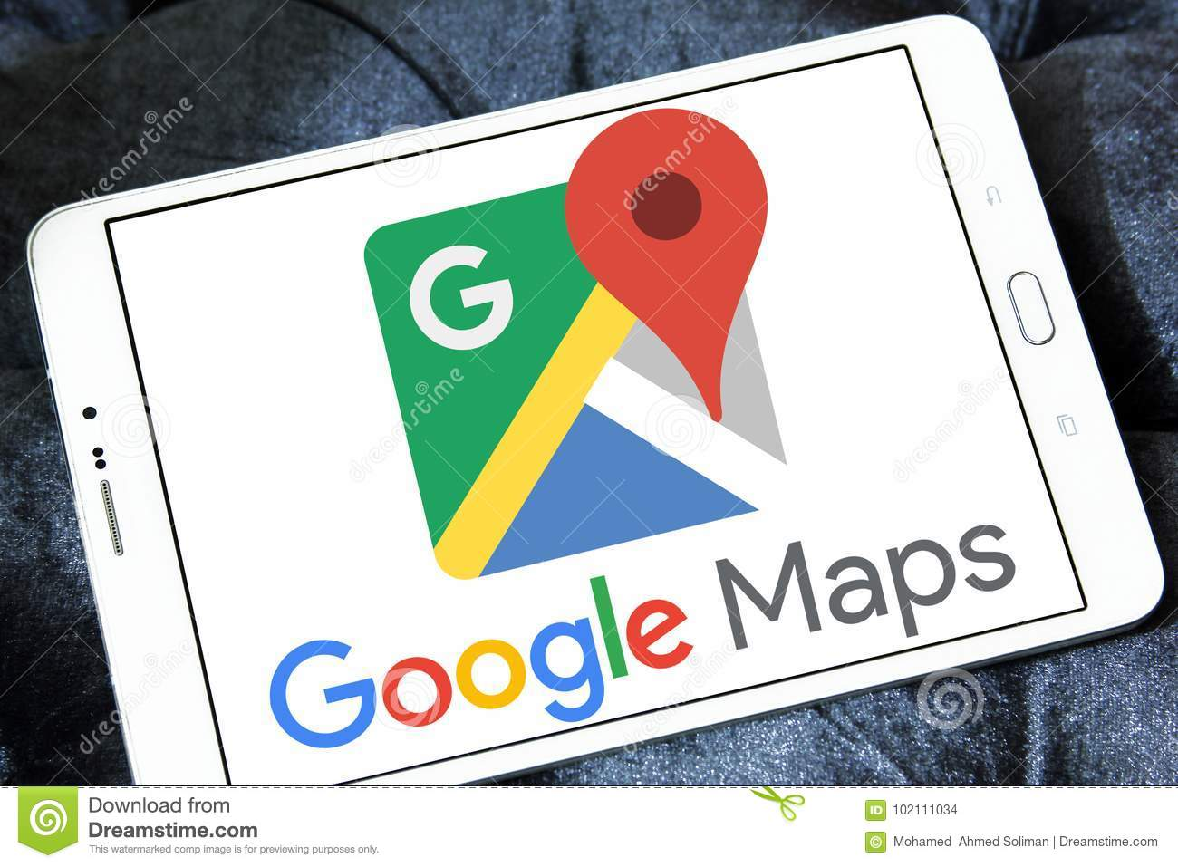 Google Maps logo editorial stock image  Image of application - 102111034