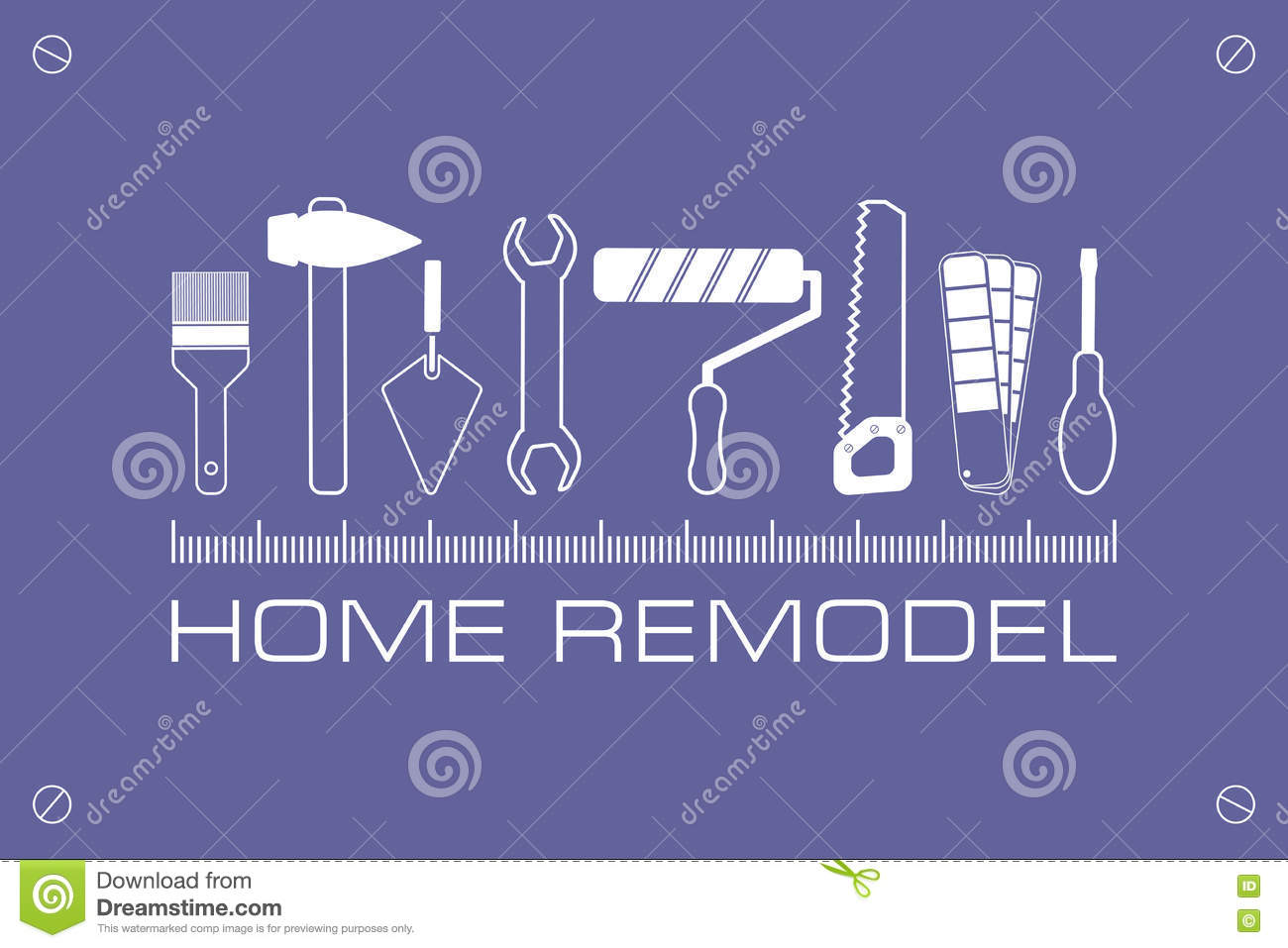 Home remodeling logo remodeling logo clipart - Logo Home Remodel Icon Of Tools For Repair