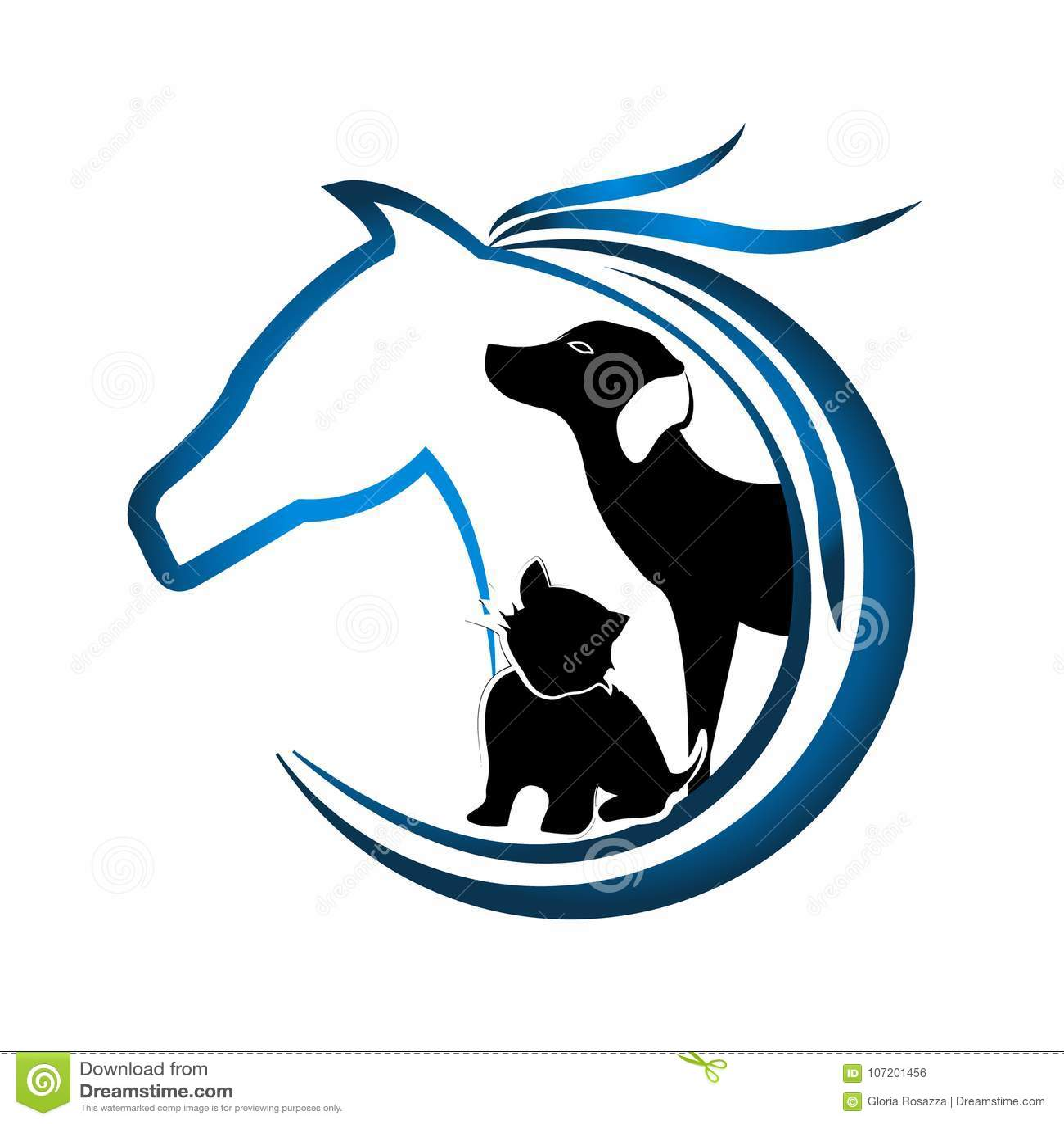 Horse Dog Cat Stock Illustrations 4 896 Horse Dog Cat Stock Illustrations Vectors Clipart Dreamstime