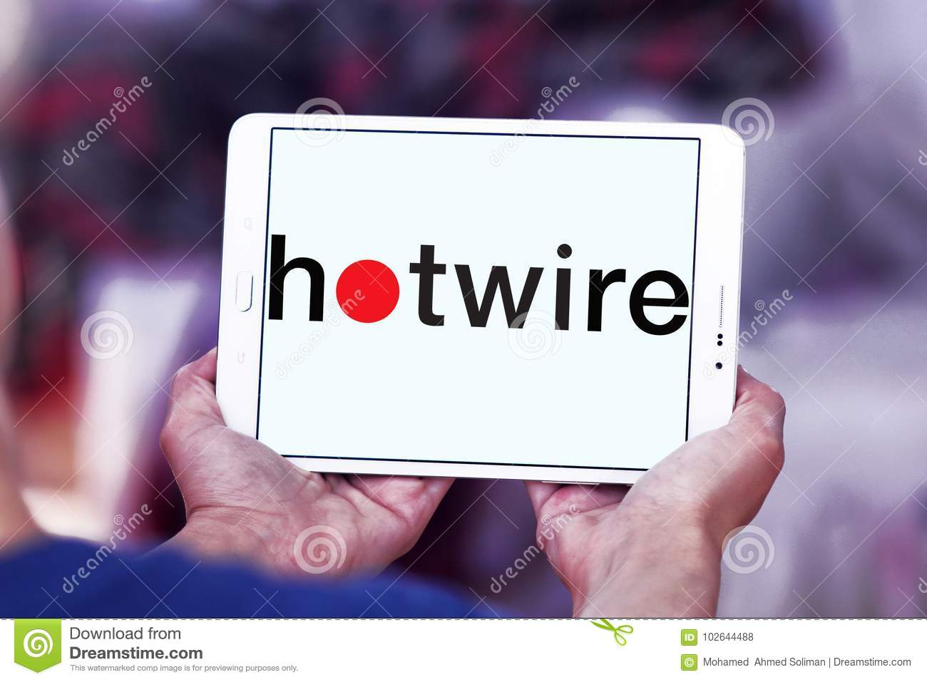 Hotwire Company Logo Editorial Stock Photo. Image Of