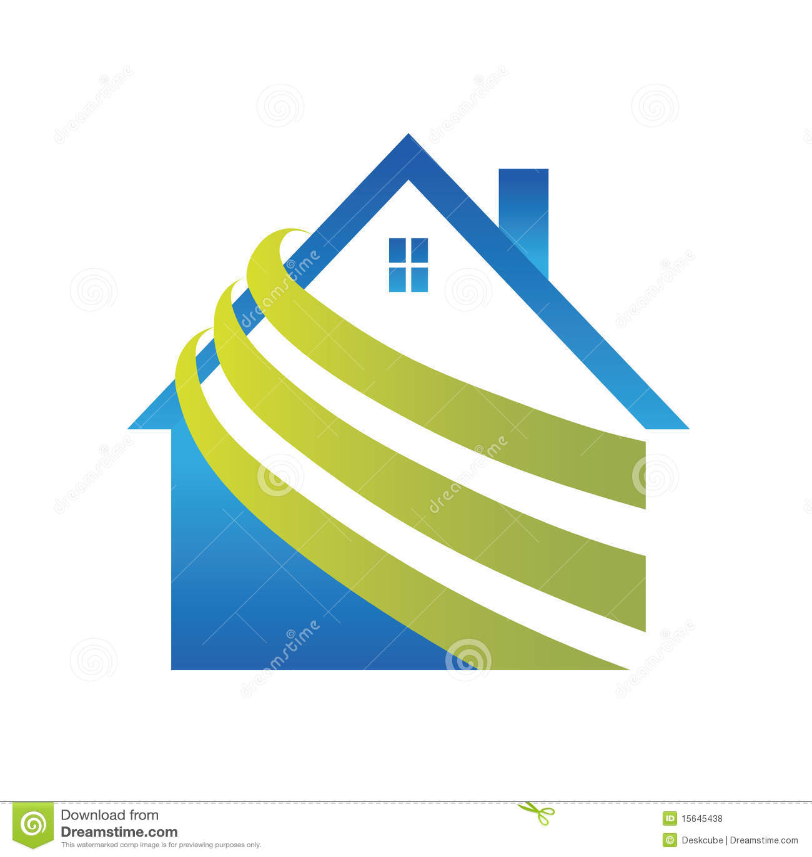 Logo House Stock Vector. Illustration Of Roof, Estate