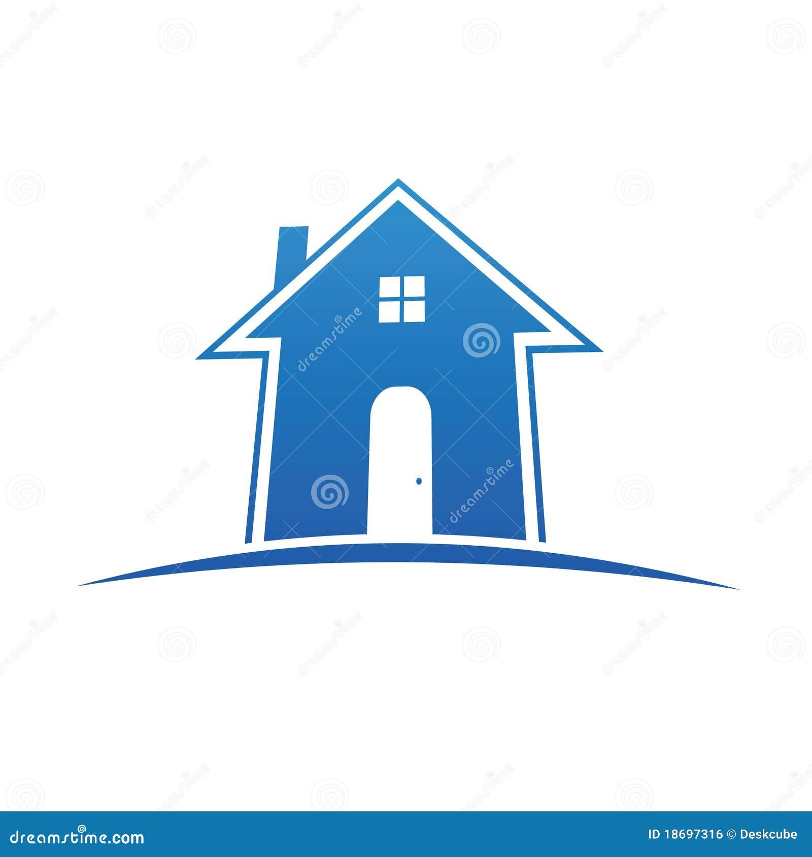 Logo House Royalty Free Stock Image Image 18697316