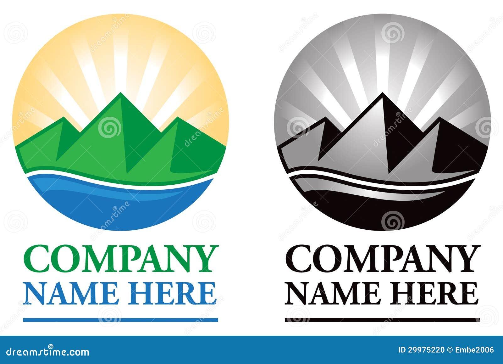 Sunrise And Mountains Logo Restaurant | Joy Studio Design Gallery ...