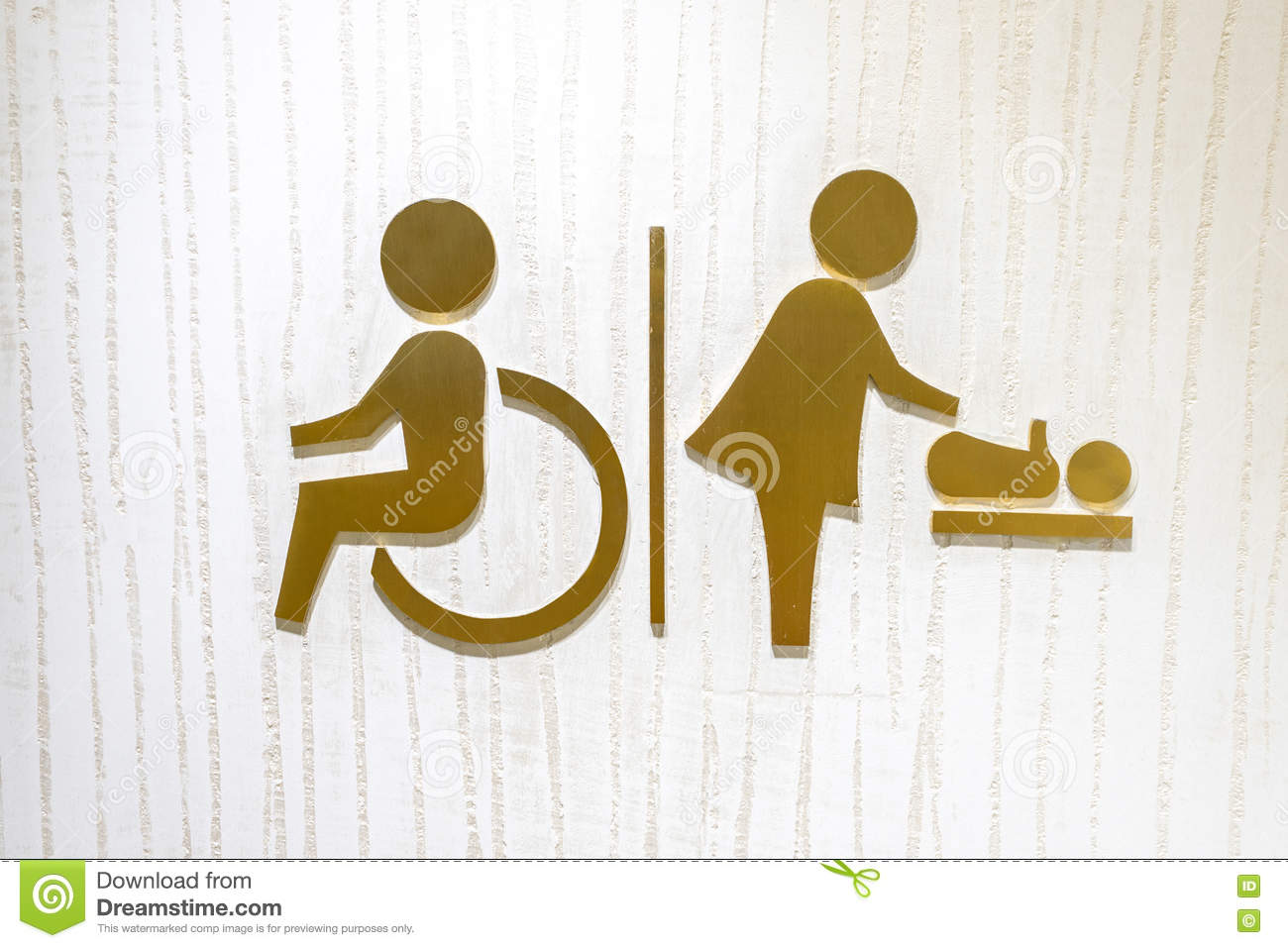 Logo icon of the toilet for disability and baby changing room logo icon of the toilet for disability and baby changing room biocorpaavc
