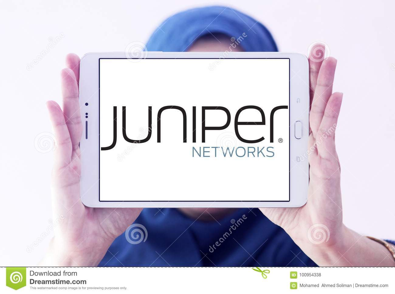Juniper Networks Company Logo Editorial Stock Photo - Image of icons