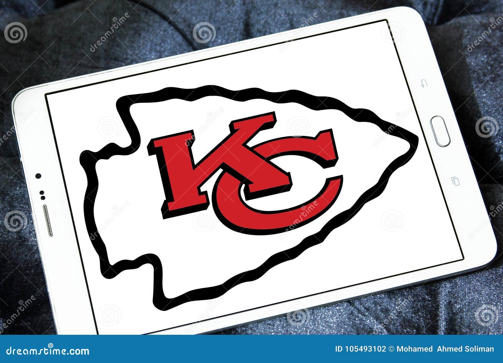 Kansas City Chiefs American Football Team Logo Editorial Photography