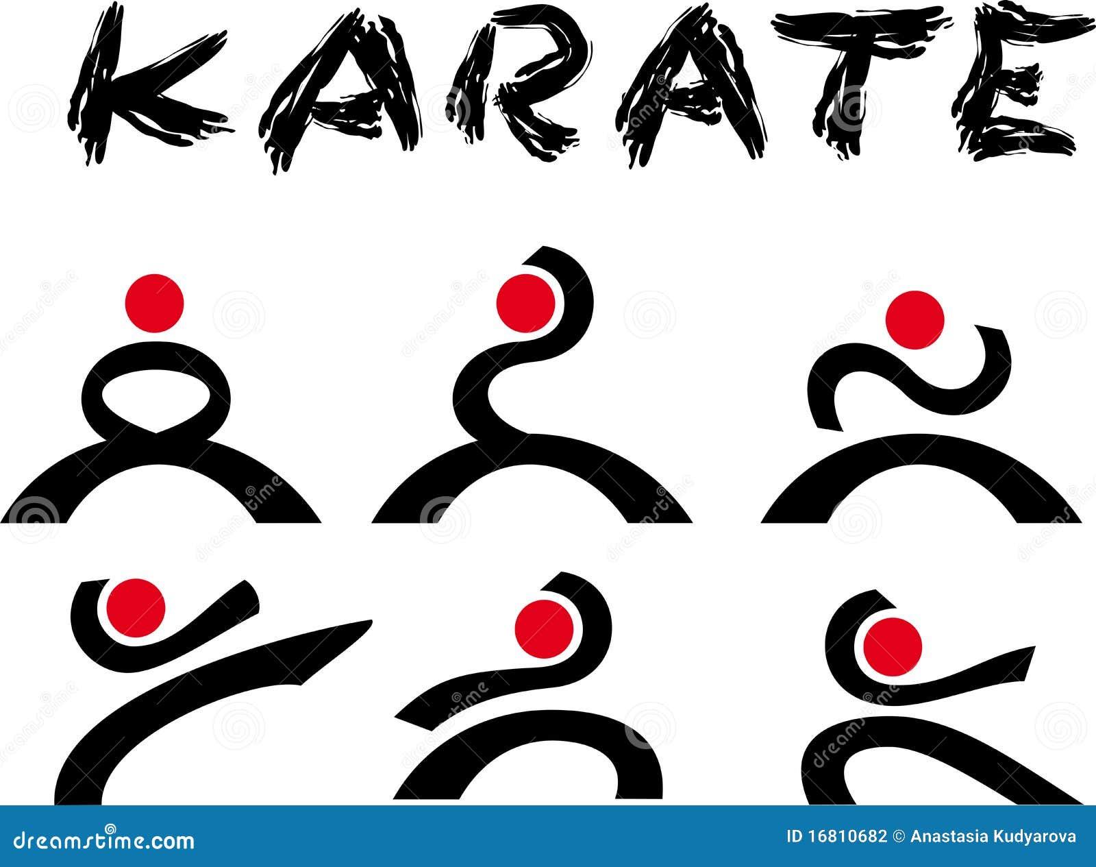 Karate kid symbol