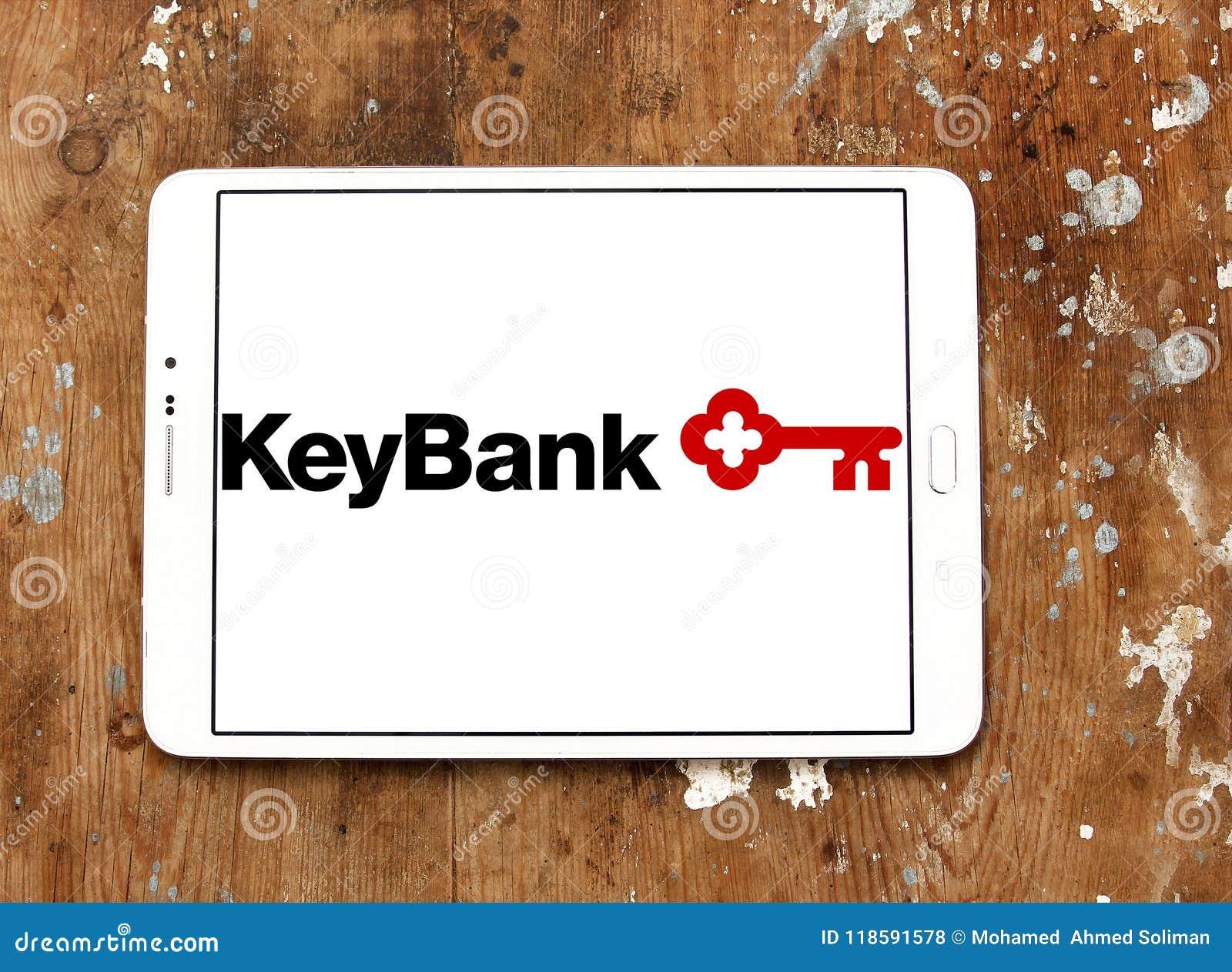 KeyBank logo editorial stock photo  Image of logo, bank