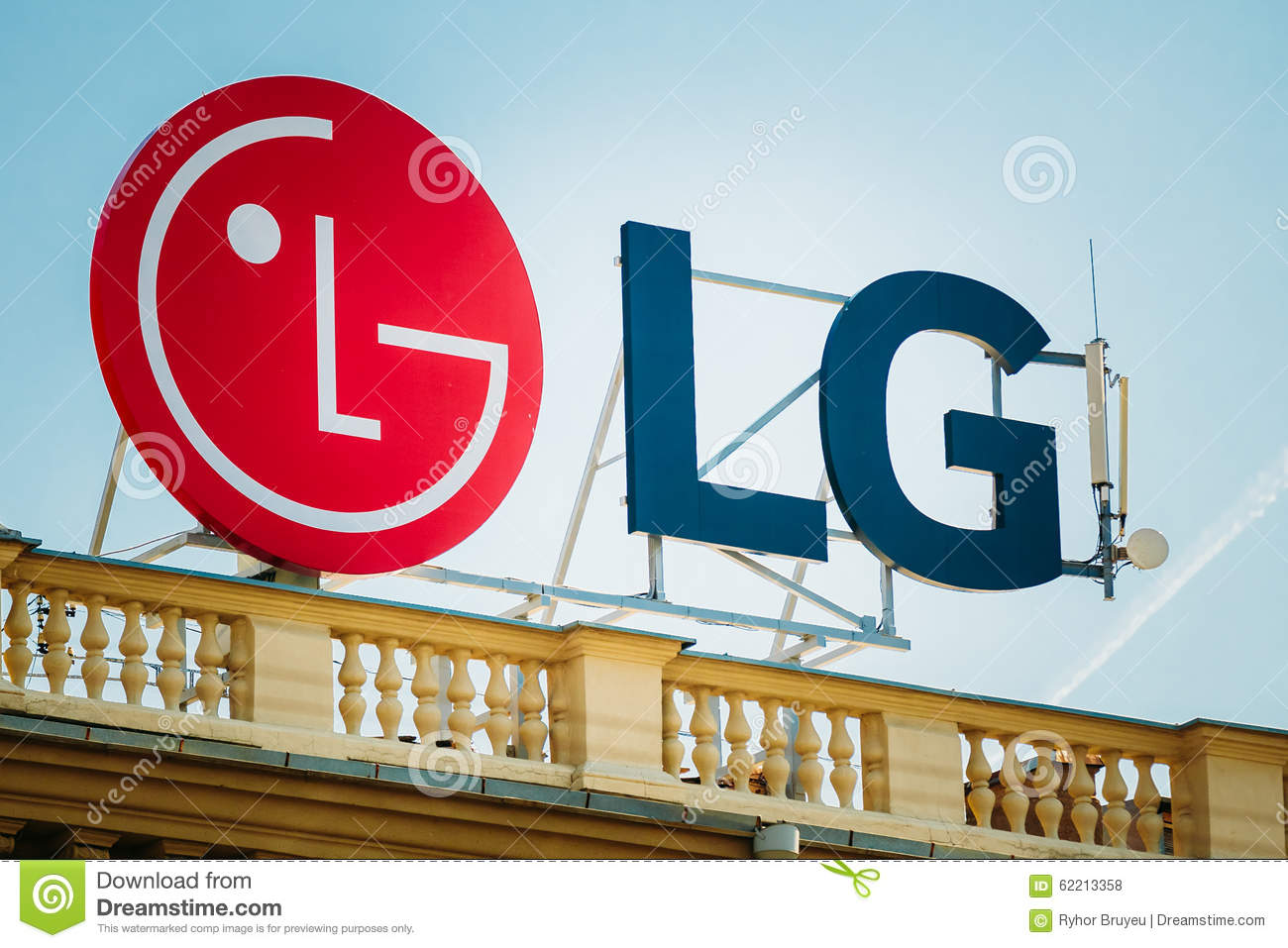 Logo Of LG Is A South Korean Multinational Editorial Stock