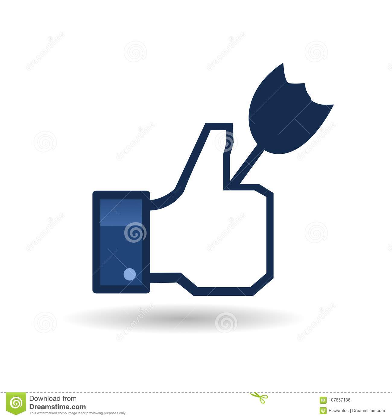 Logo likes facebook pictures and template editorial photo download logo likes facebook pictures and template editorial photo illustration of logo pictures maxwellsz