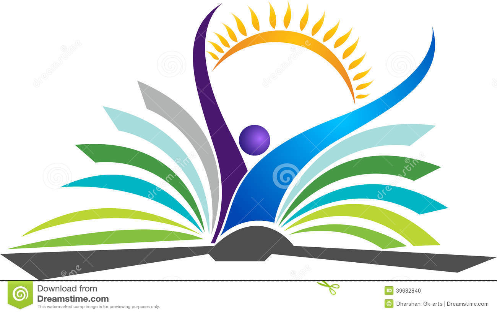 Logo lumineux d éducation
