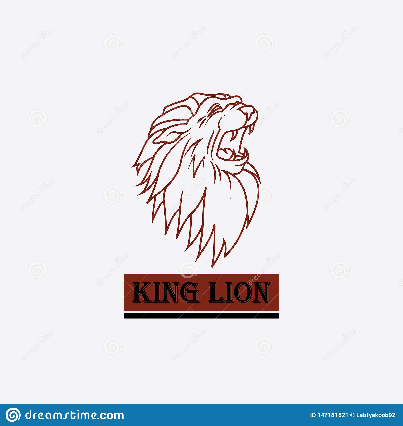 Logo lwa kr?lewi?tka g?owa