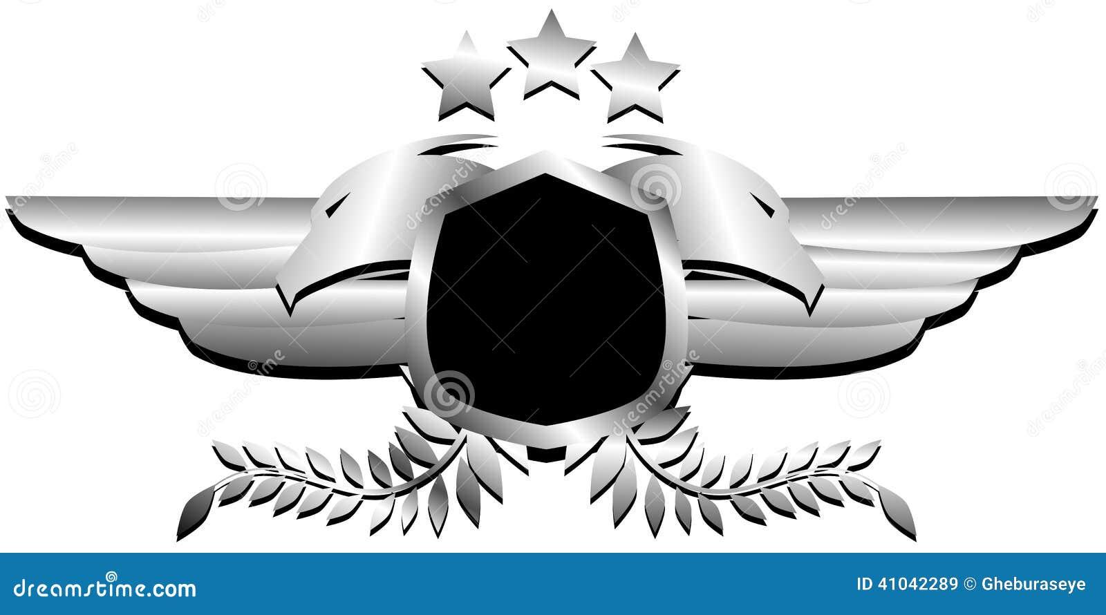 Bien connu Logo Métallique D'aigle à Deux Têtes Photo stock - Image: 41042289 YR22