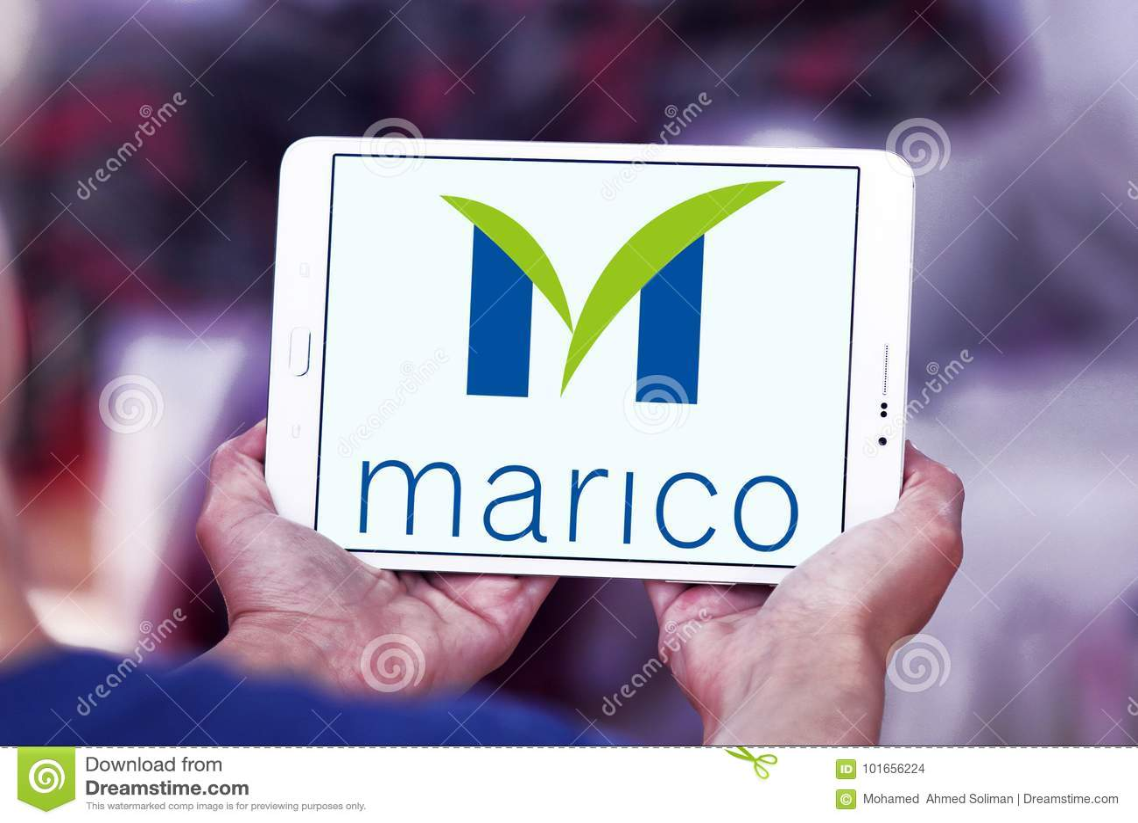 Marico goods company logo editorial stock image  Image of
