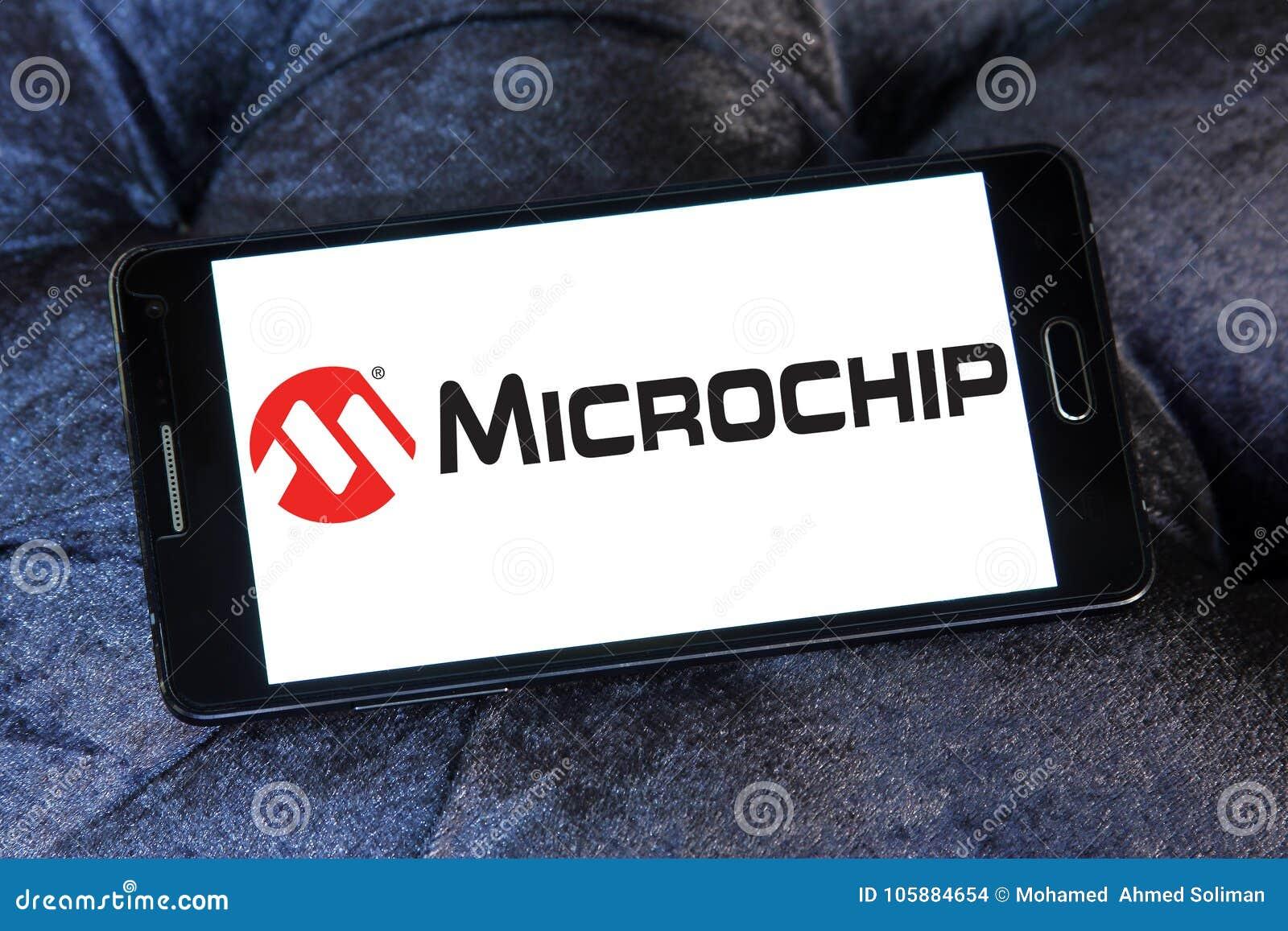 Microchip Technology Company Logo Editorial Stock Image