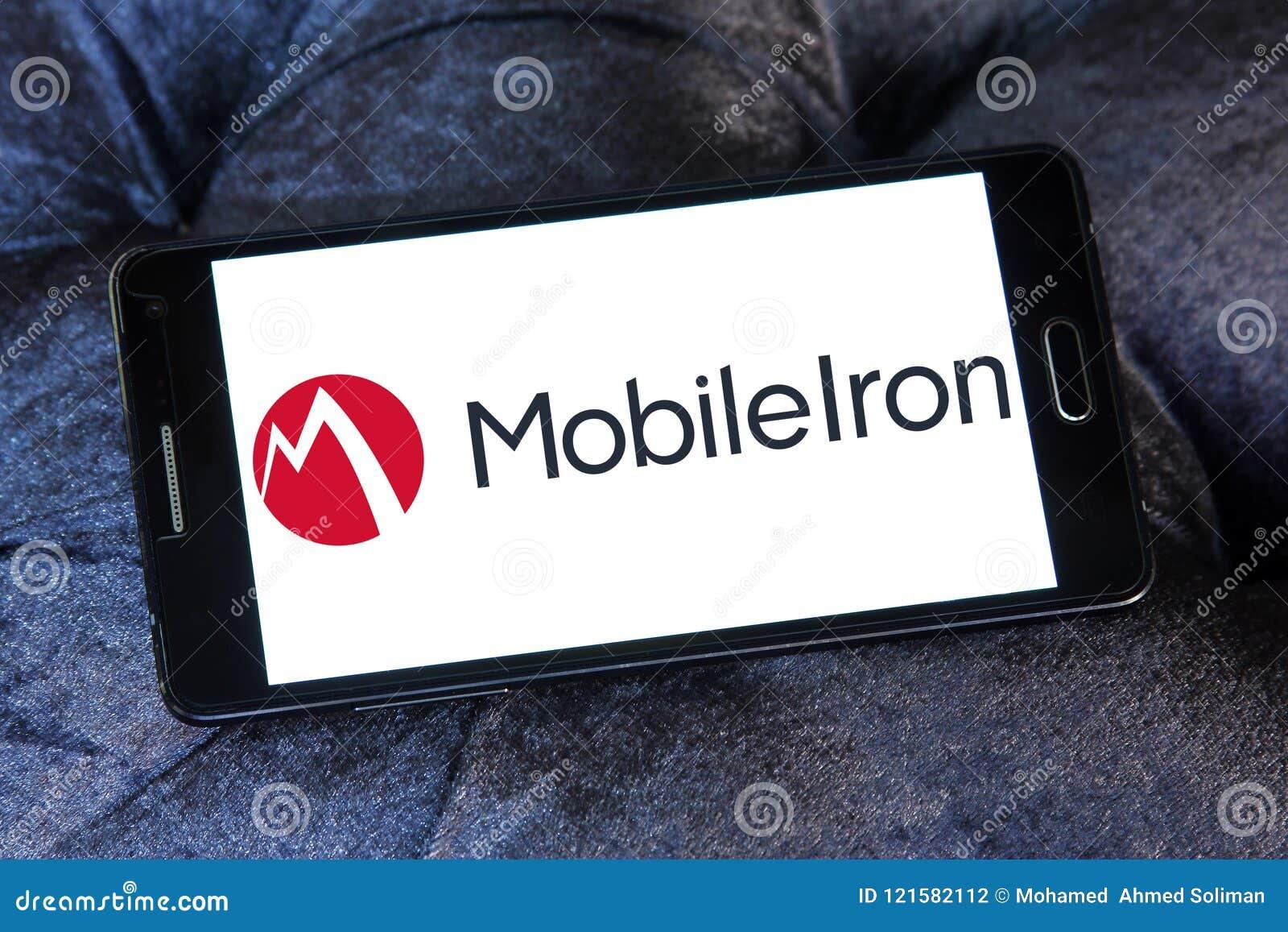 MobileIron Software Company Logo Editorial Photography