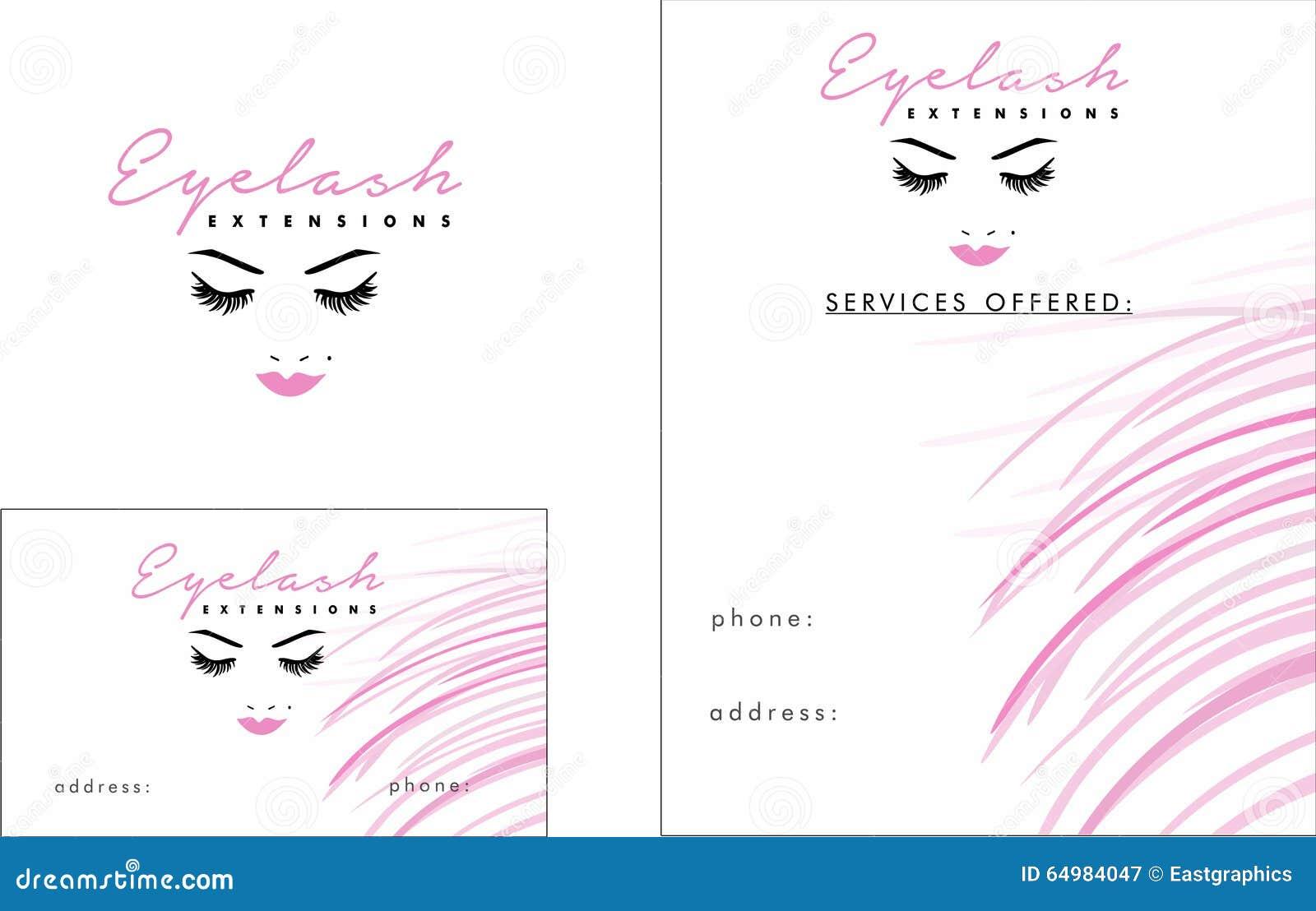 Logo Moderne De Cil Carte Visite Professionnelle 2 X 3 5