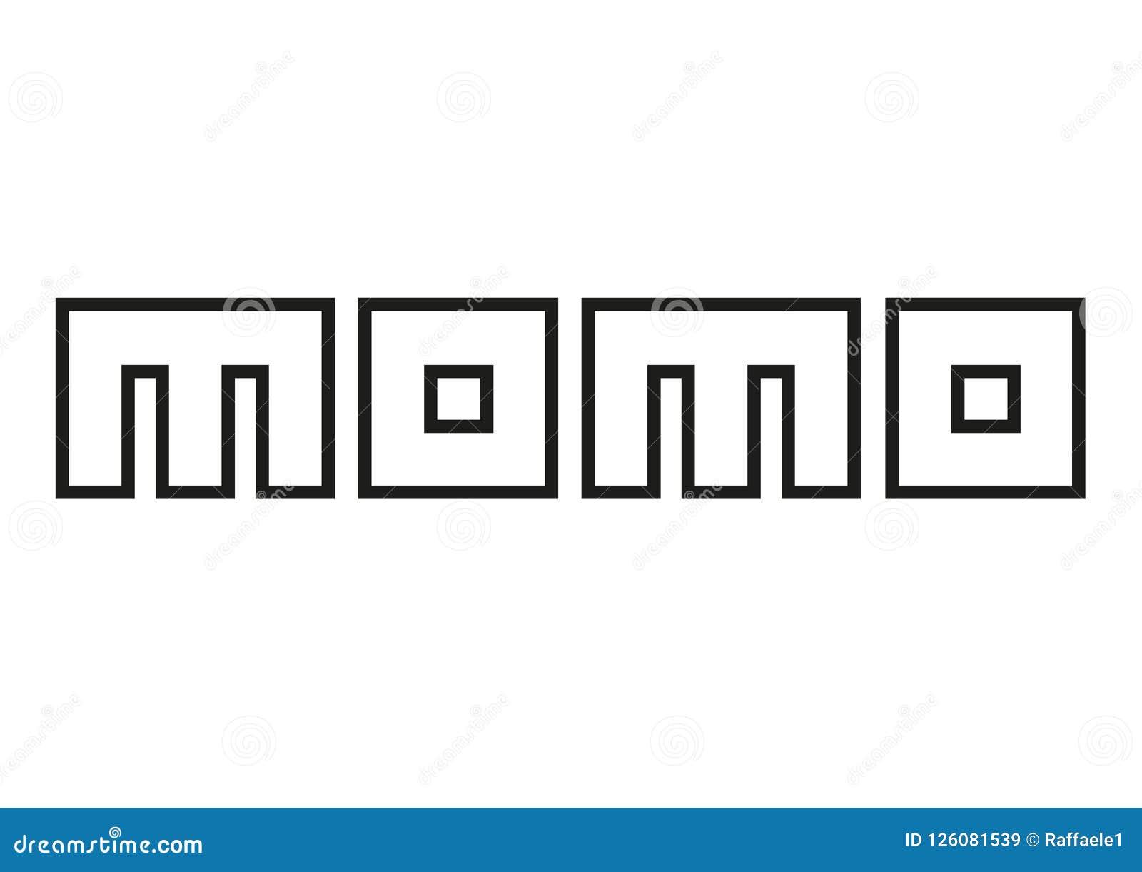 Logo Momo Imagem De Stock Editorial Ilustracao De Carro 126081539