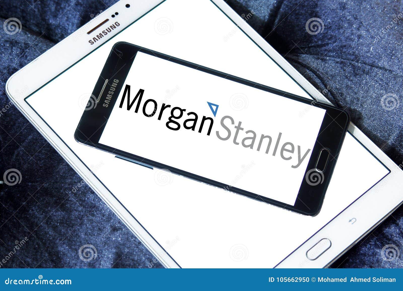 Morgan Stanley logo editorial image  Image of financial