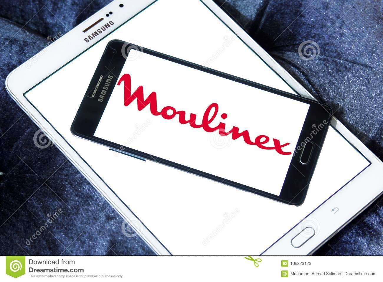 Moulinex company logo editorial stock photo  Image of companies
