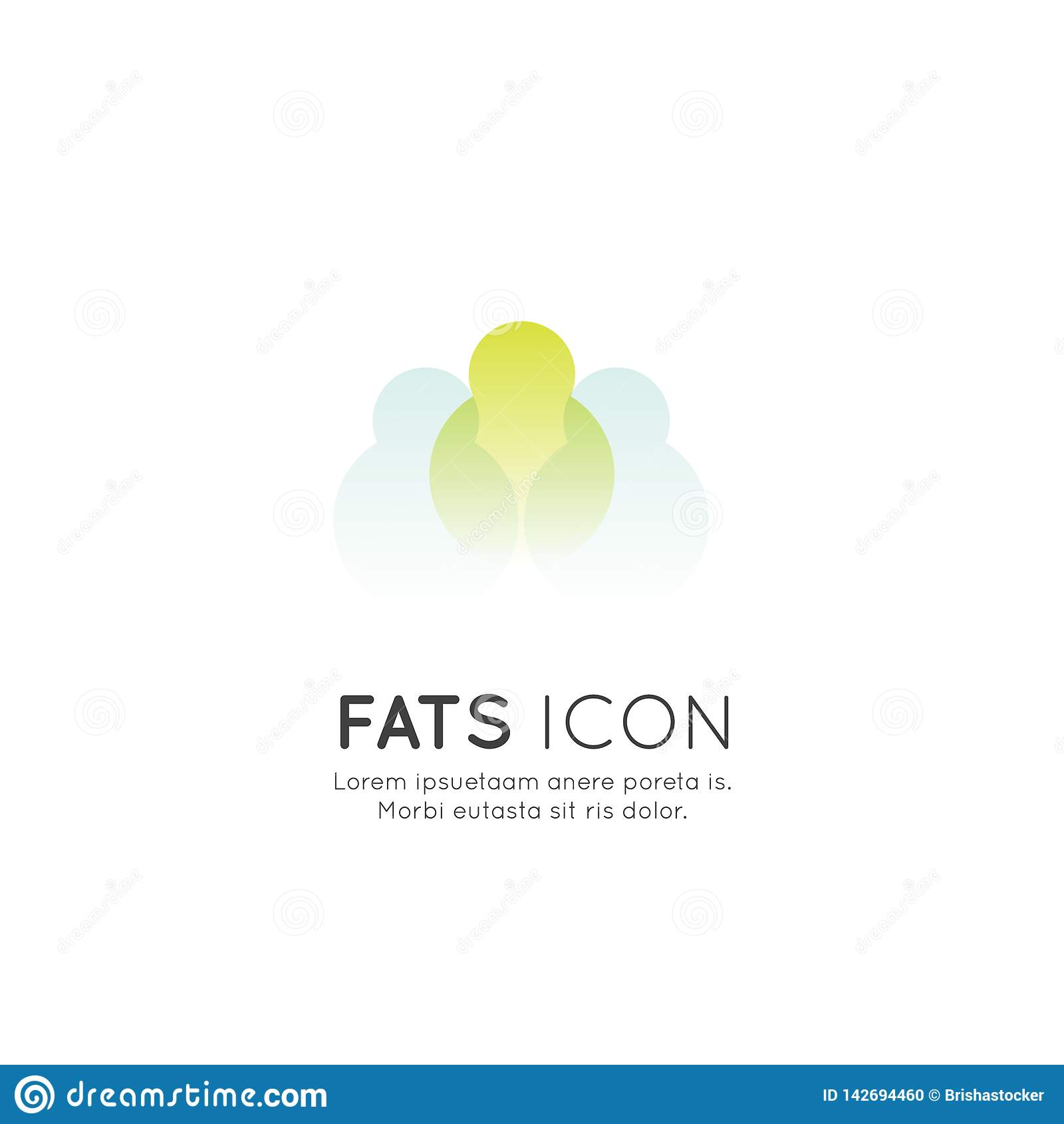 Logo nadprogramy, składniki, witaminy i elementy dla życiorys pakunek etykietek jedzenia, naturalny zdrowy produktu projekt dla h