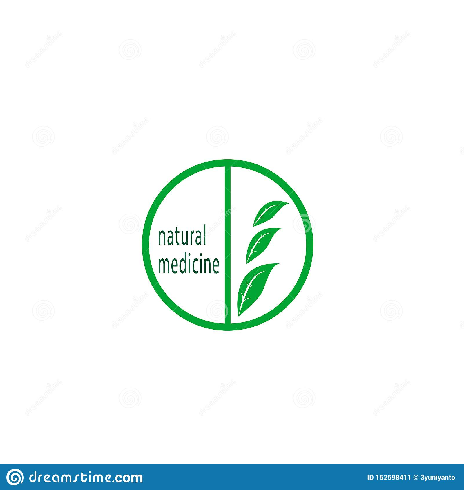 Logo naturale della medicina