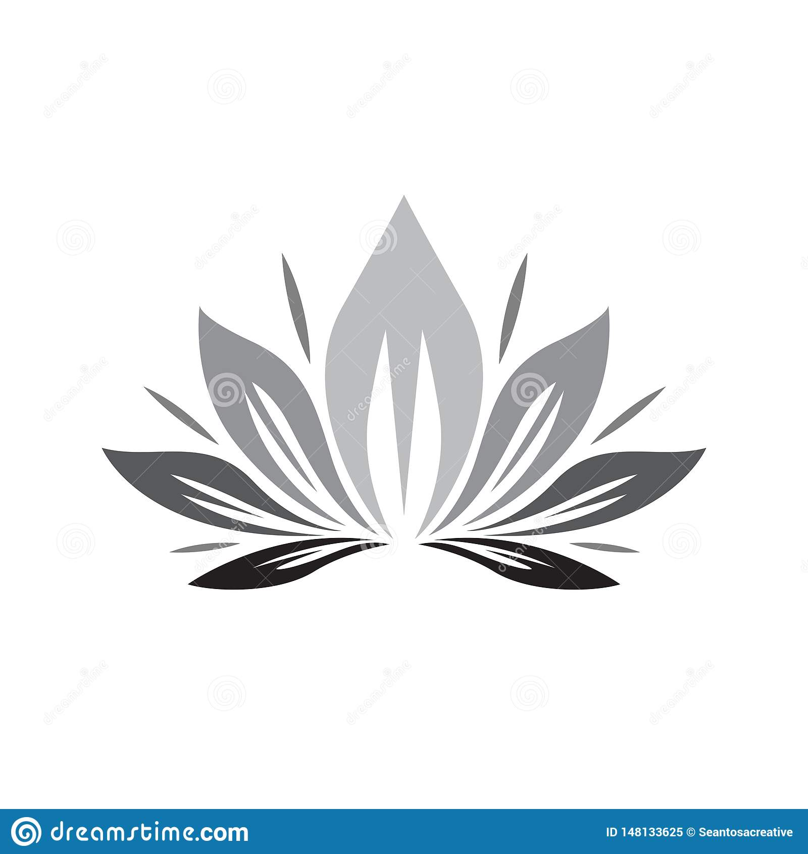 Logo naturale, sano e di goccia della foglia, dell acqua - vettore