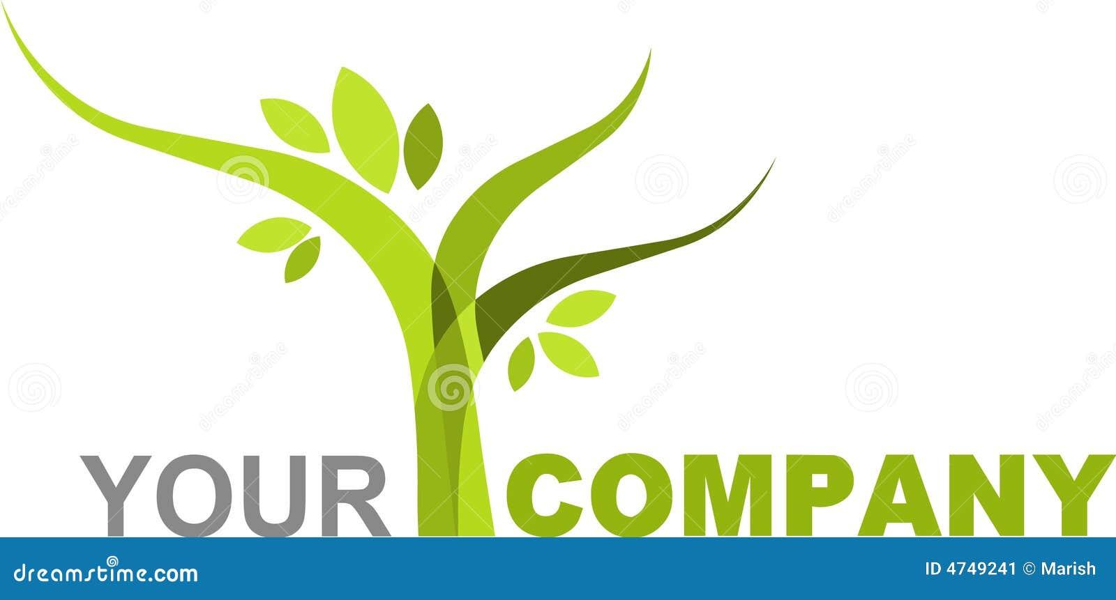 Logo Nature Stock Image - Image: 4749241
