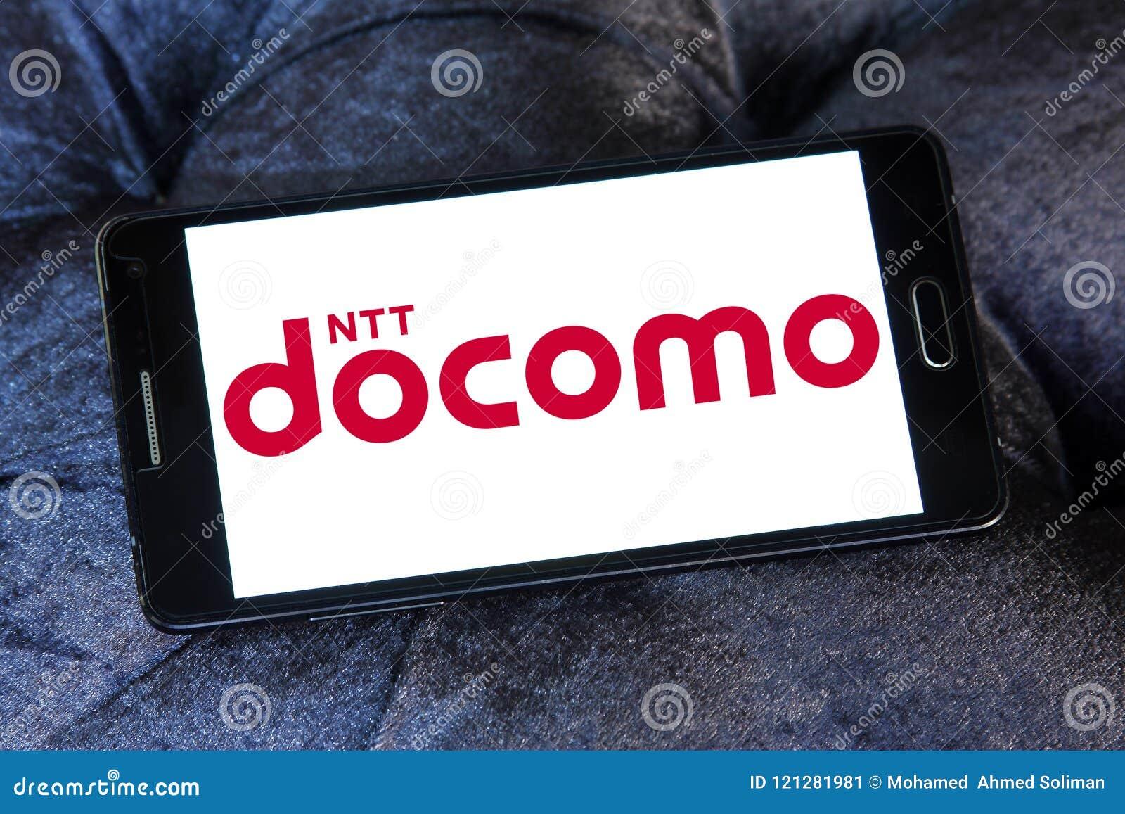 Ntt Docomo Telecommunications Company Logo Editorial Photo Image
