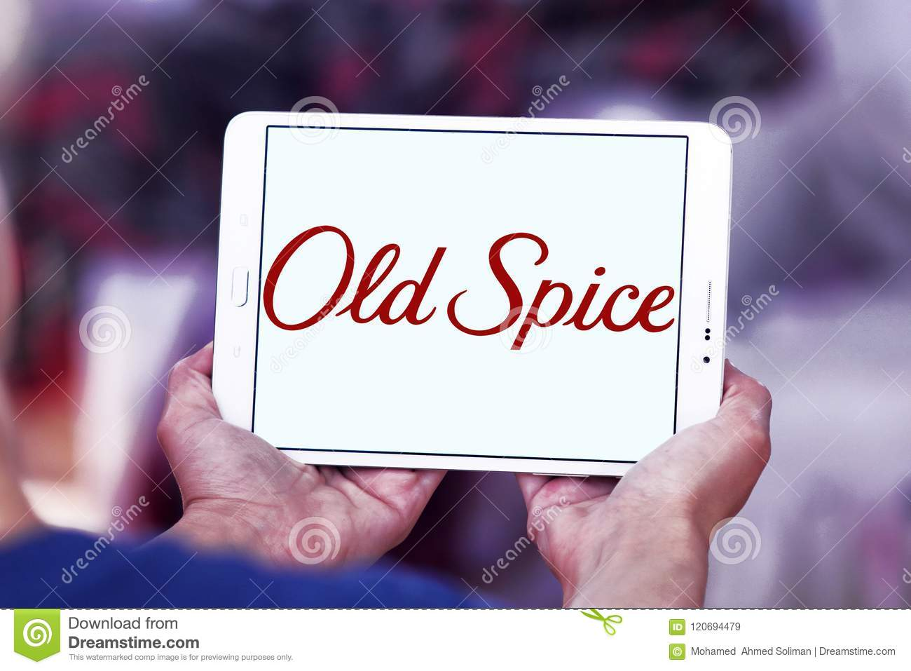 Old Spice Brand Logo Editorial Stock Image Image Of Signs 120694479