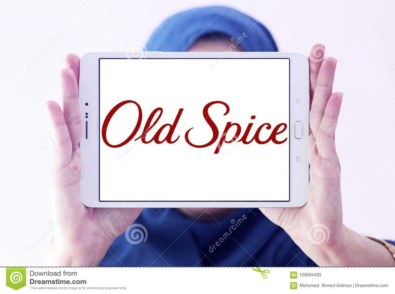 Old Spice Brand Logo Editorial Stock Photo Image Of Brand 120694493