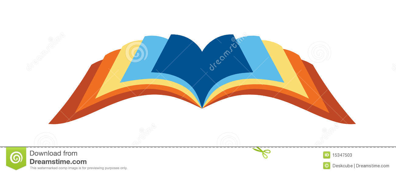 Logo Open Book Stock Photos Image 15347503