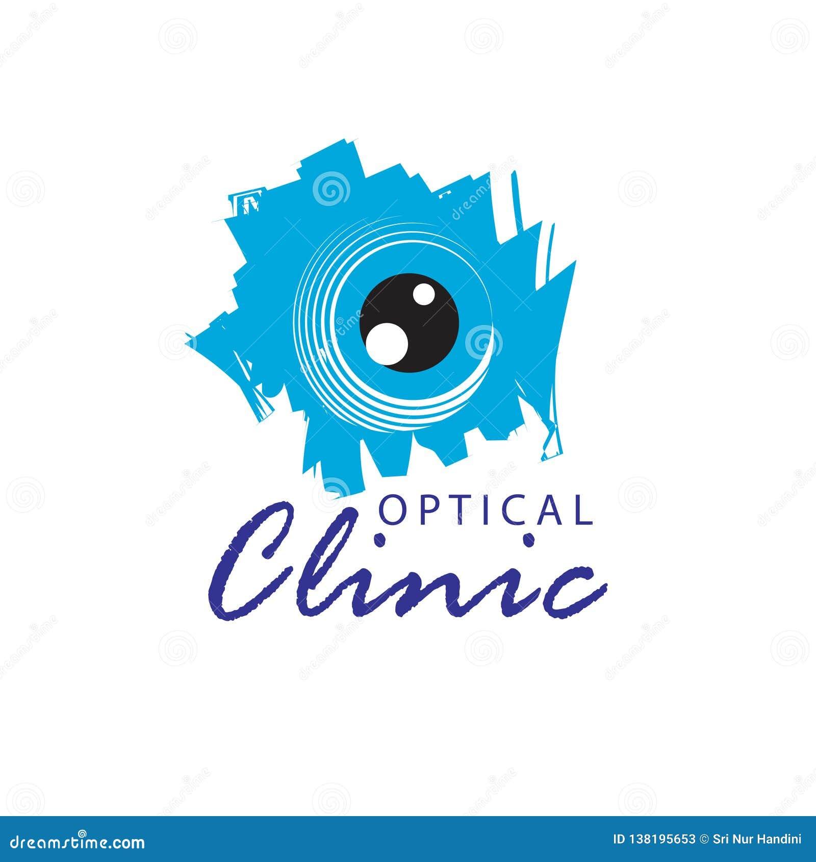 Logo Optical Clinic  Idea For Ophthalmic Clinic Or Eye