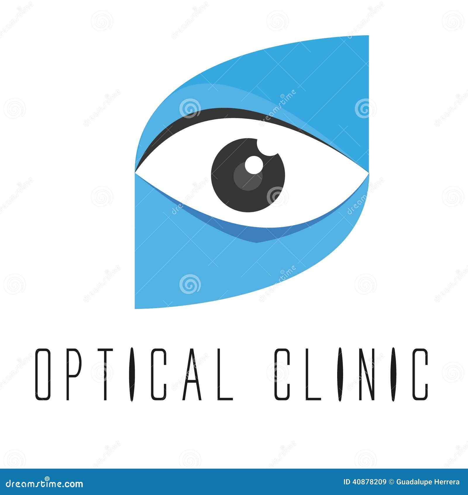 Optical logo design