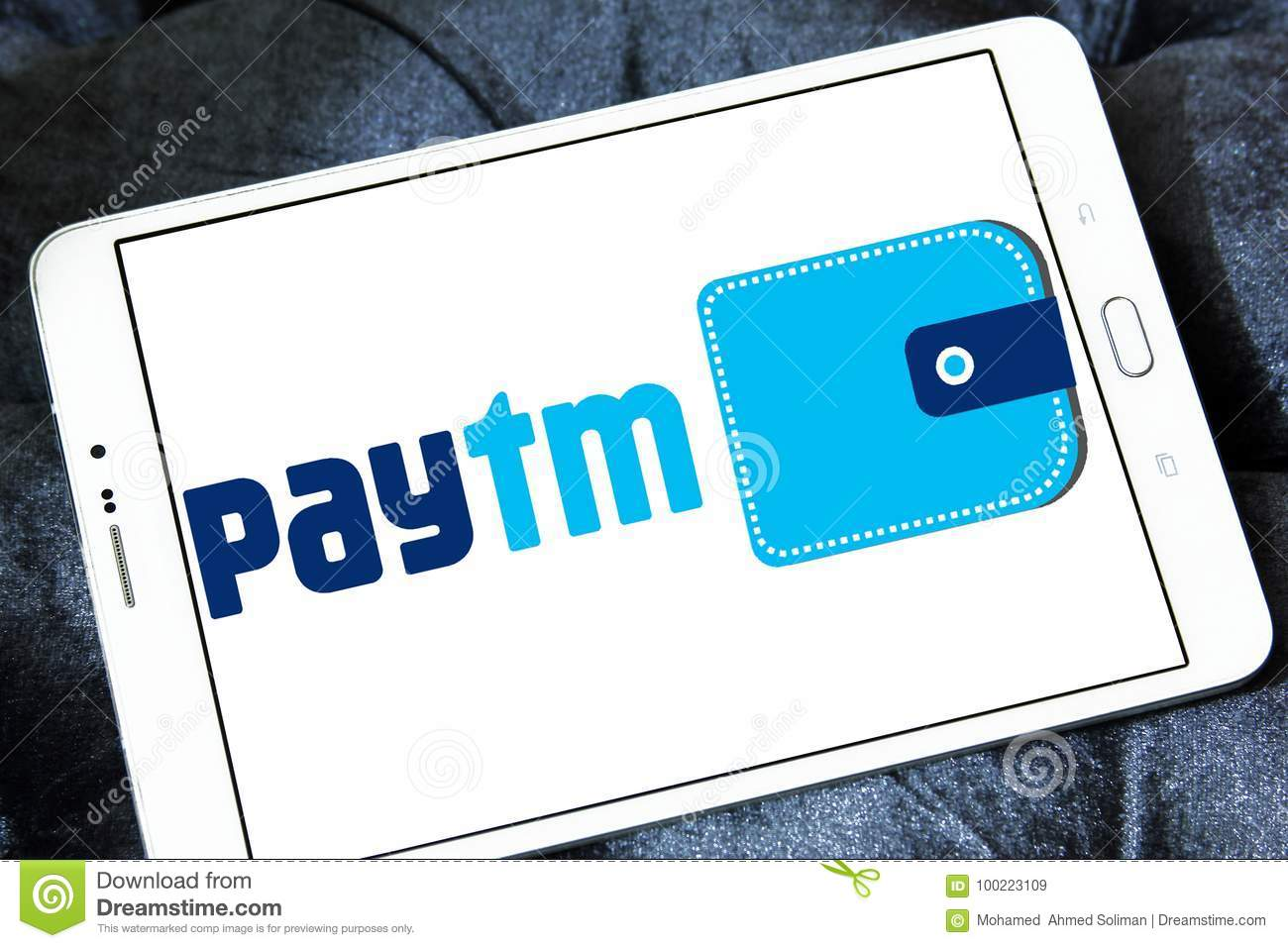 Paytm Payments bank logo editorial stock image  Image of