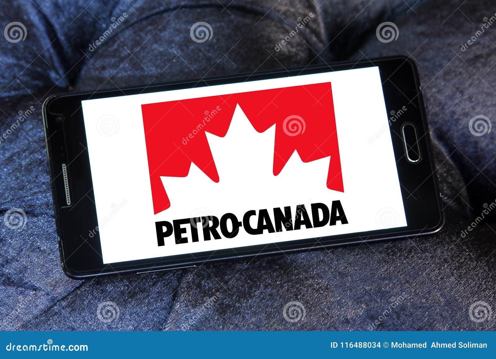 Petro Canada company logo editorial stock image  Image of