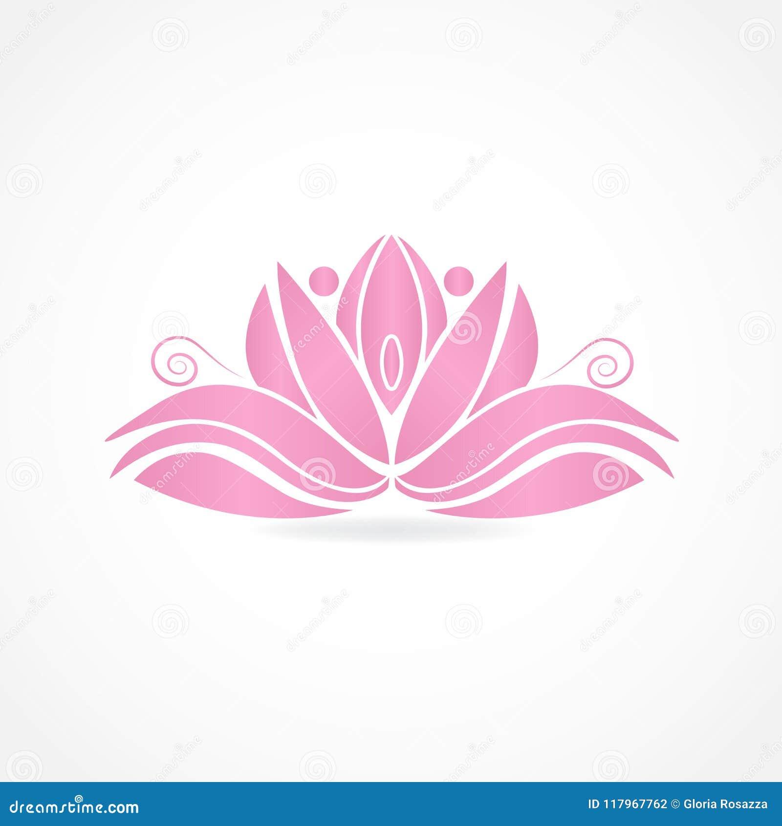Logo lotus flower people symbol of yoga vector image illustration download logo lotus flower people symbol of yoga vector image illustration graphic design stock vector izmirmasajfo