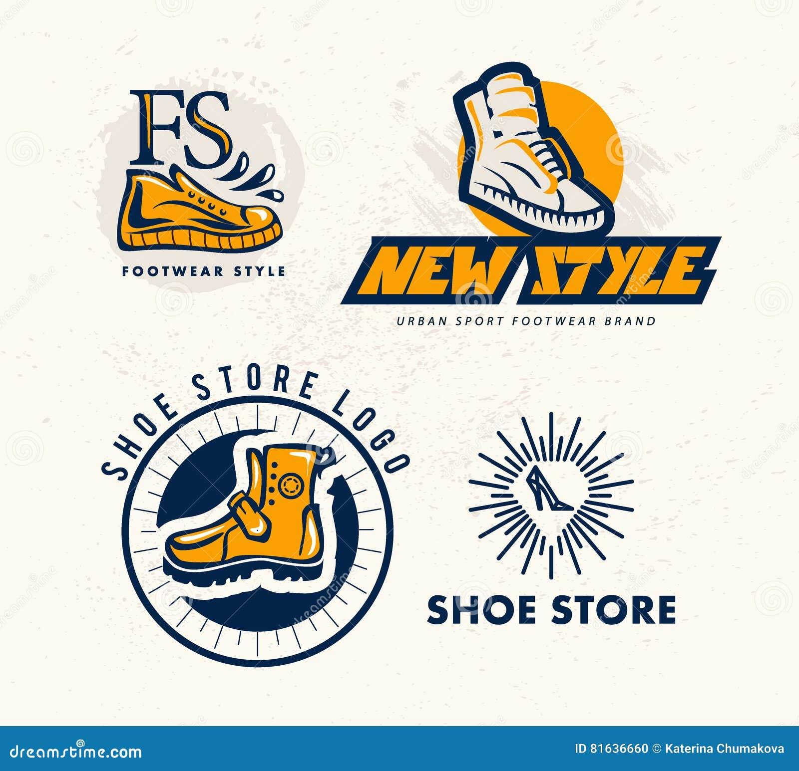 Logo plat de marque de marque de chaussure de sport de vecteur download comp thecheapjerseys Images